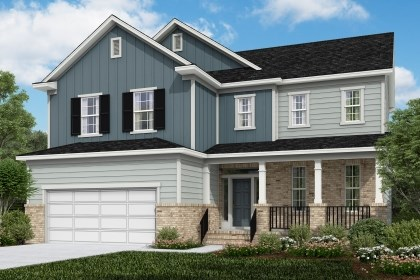 New Homes in Cary, NC - The Raeford Elevation X