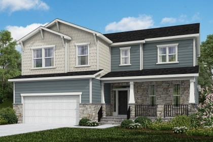 New Homes in Cary, NC - The Raeford Elevation Y