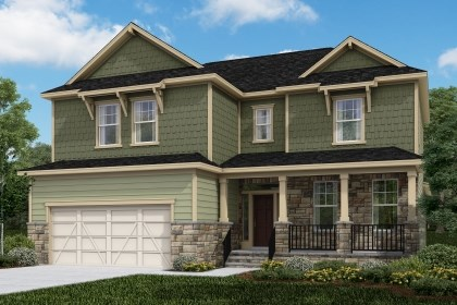 New Homes in Cary, NC - The Raeford Elevation Z
