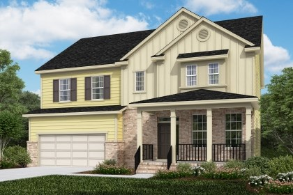 New Homes in Cary, NC - The Ashland Elevation X