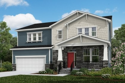 New Homes in Cary, NC - The Ashland Elevation Y