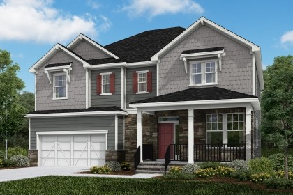New Homes in Cary, NC - The Ashland Elevation Z