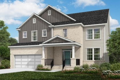 New Homes in Cary, NC - The Rockingham Elevation X
