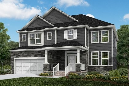 New Homes in Cary, NC - The Rockingham Elevation Z