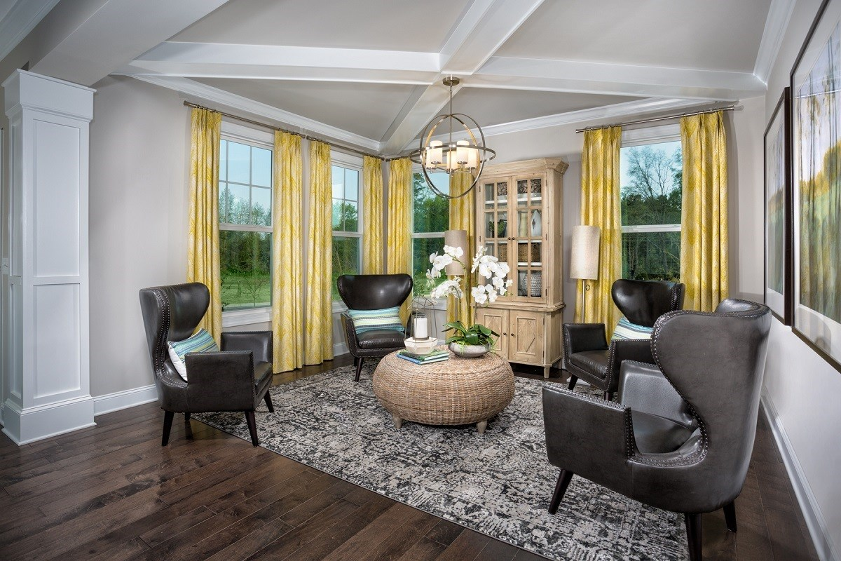 New Homes in Cary, NC - Darlington Woods The Rockingham Flex Room