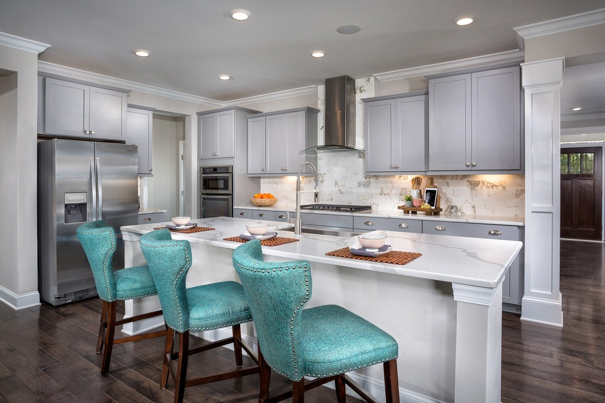 New Homes in Cary, NC - Darlington Woods The Rockingham Kitchen