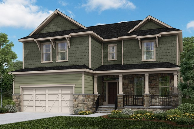 The Raeford – New Home Floor Plan in Darlington Woods by KB Home