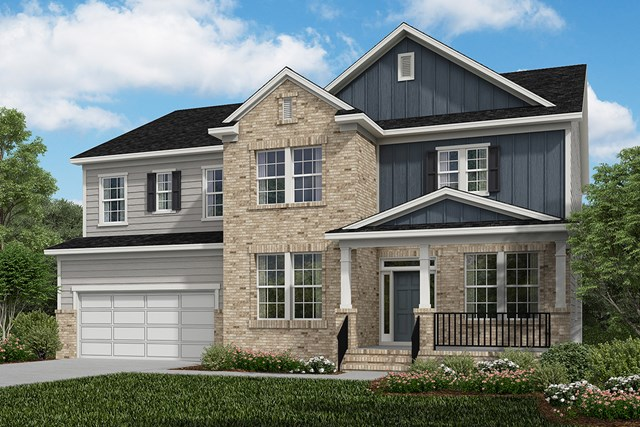 New Homes in Cary, NC - Elevation X