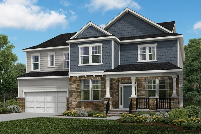 New Homes in Cary, NC - Elevation Z