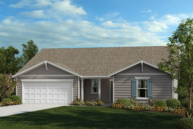 New Homes in Fuquay-Varina, NC - Elevation B