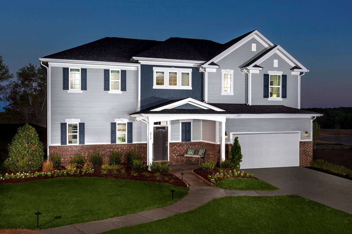New Homes in Holly Springs, NC - Parks at Bass Lake The Creswell II