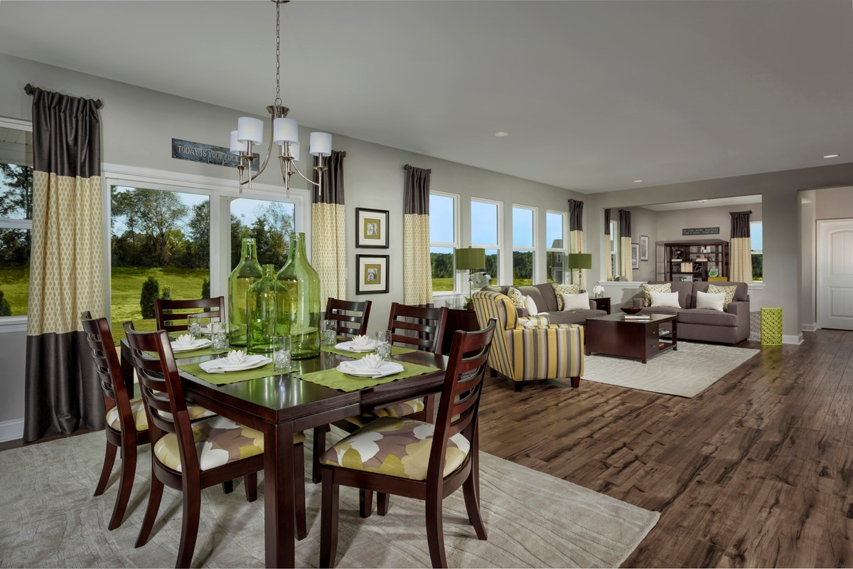 New Homes in Holly Springs, NC - Parks at Bass Lake The Creswell - Great Room