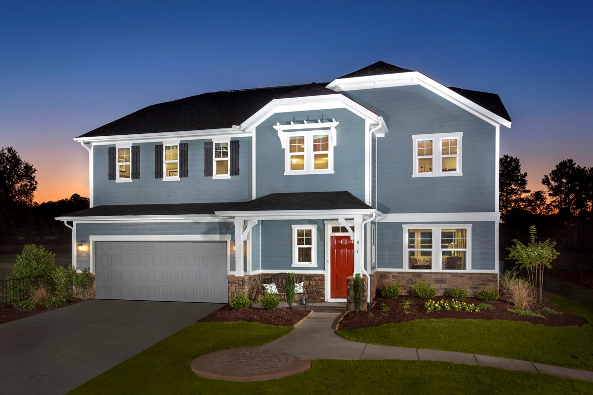 New Homes in Holly Springs, NC - Parks at Bass Lake The Fairview II