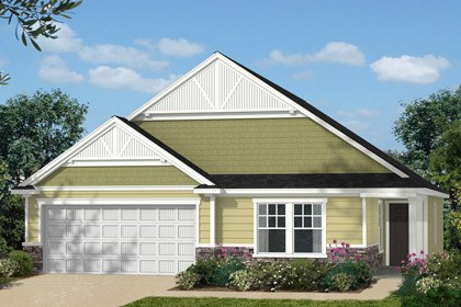 New Homes in Holly Springs, NC - Elevation C