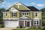 New Homes in Holly Springs, NC - The Bayboro II