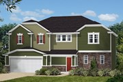 New Homes in Holly Springs, NC - The Creswell II Modeled