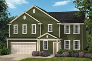 New Homes in Holly Springs, NC - The Fairview II Modeled