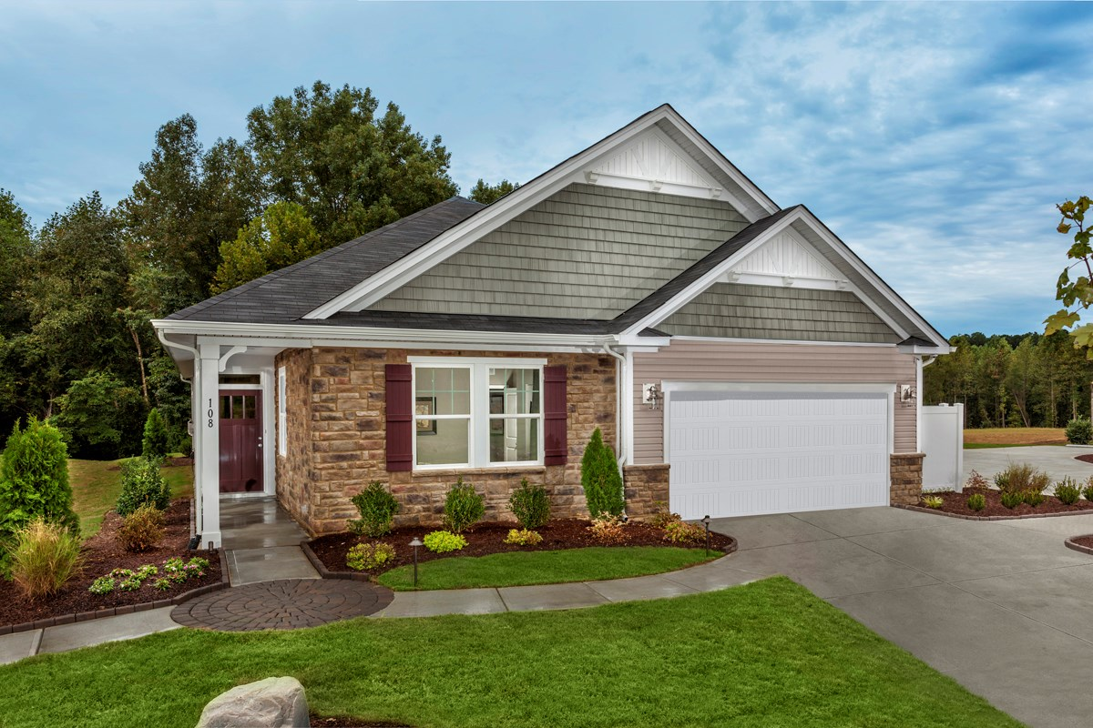 New Homes in Fuquay-Varina, NC - Partin Place The Griffith