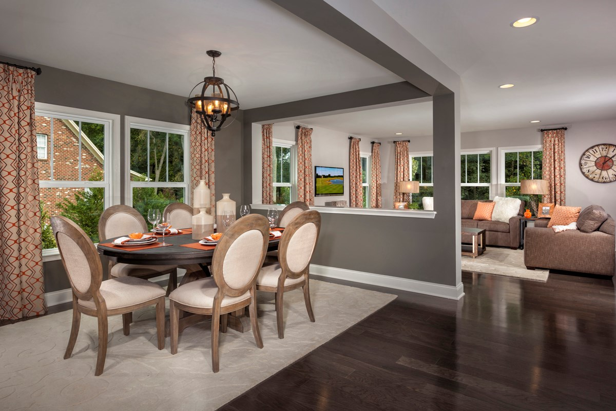 New Homes in Fuquay-Varina, NC - Partin Place The Brinkley - Dining Room