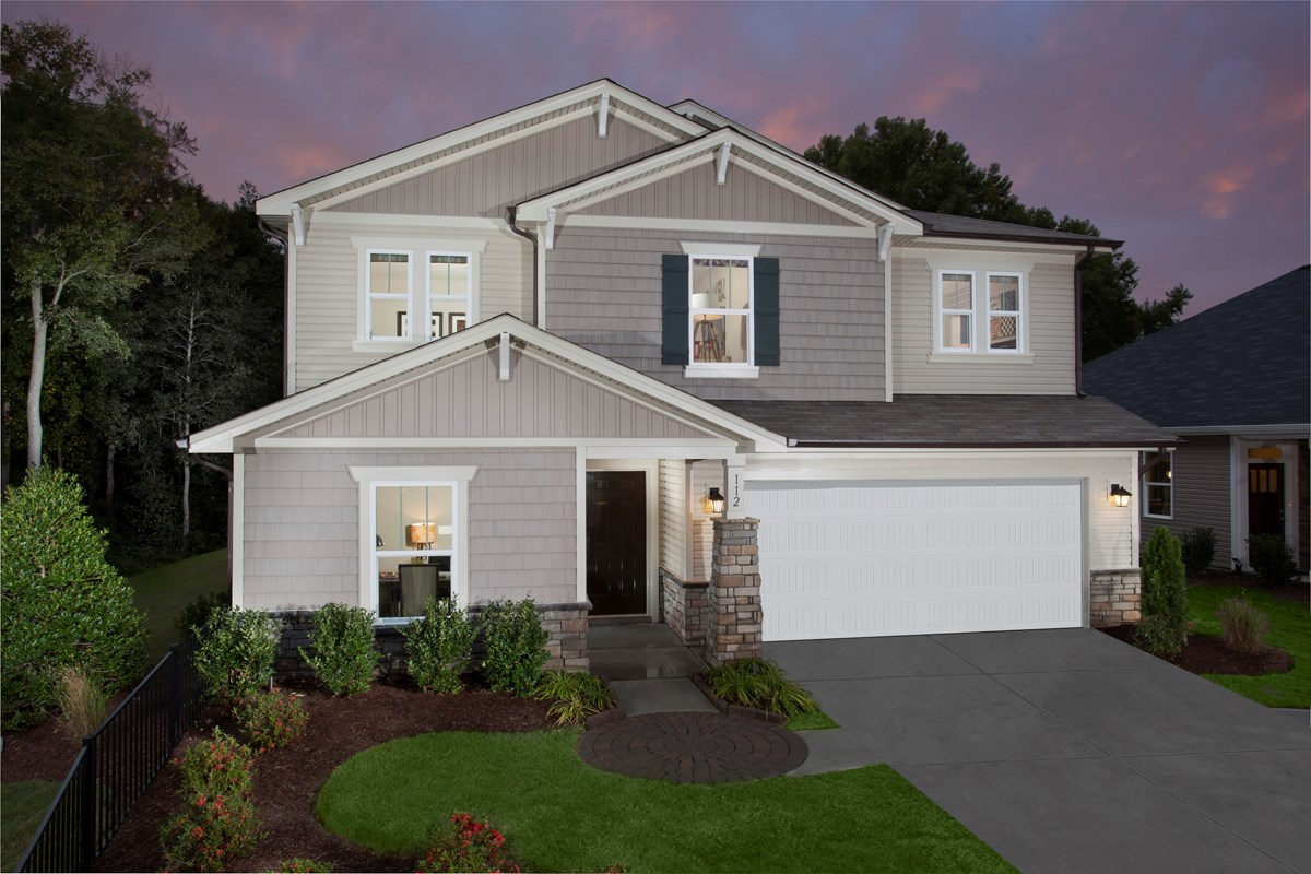 New Homes in Fuquay-Varina, NC - Partin Place The Brinkley