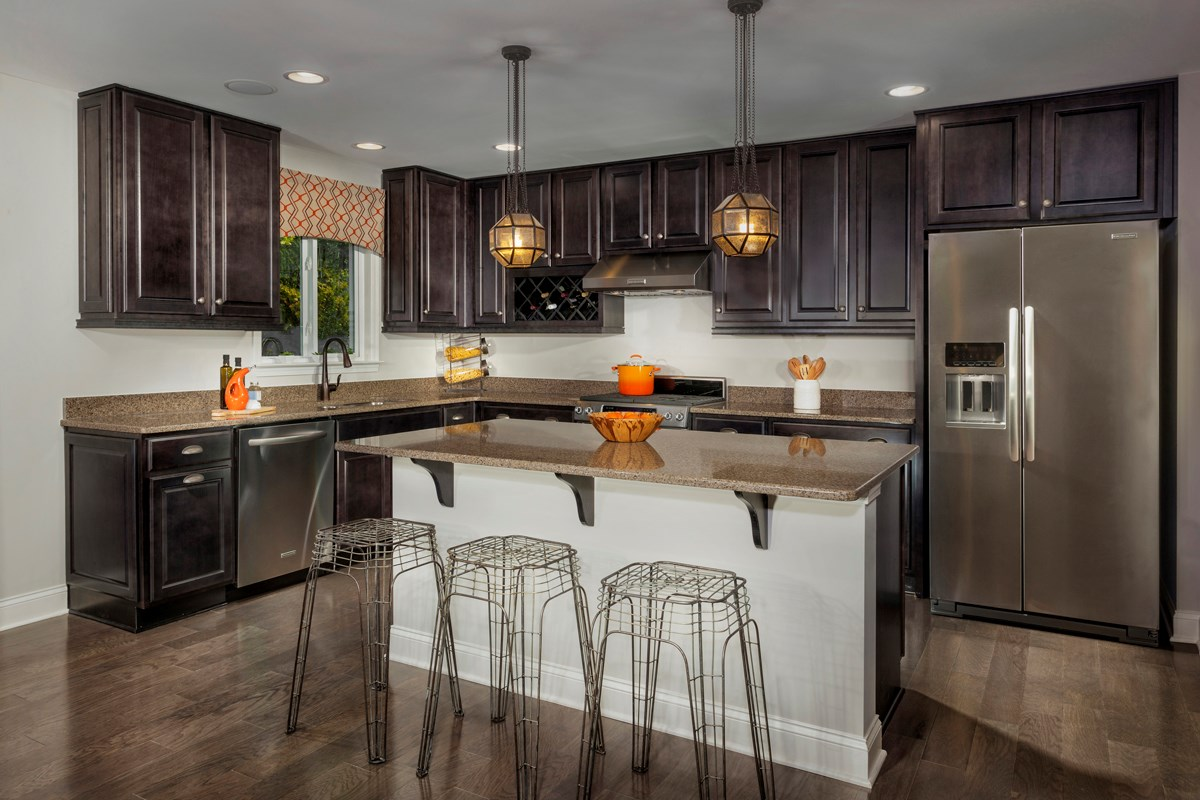 New Homes in Fuquay-Varina, NC - Partin Place The Brinkley - Kitchen