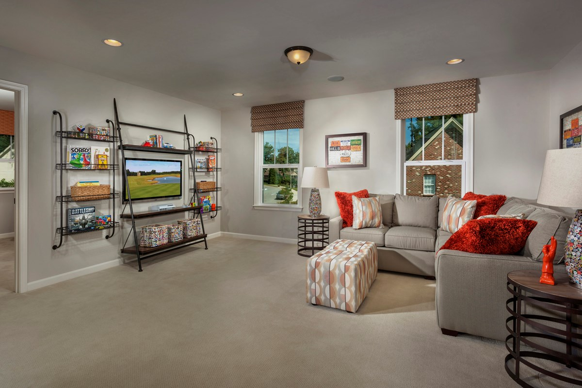 New Homes in Fuquay-Varina, NC - Partin Place The Brinkley - Loft