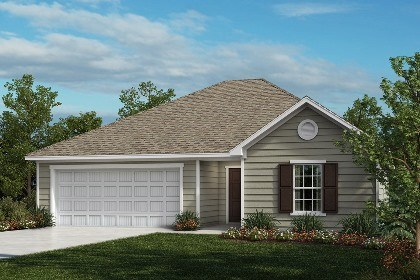 New Homes in Fuquay-Varina, NC - The Daniels Elevation A