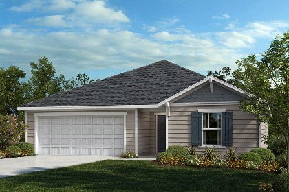 New Homes in Fuquay-Varina, NC - The Daniels Elevation B