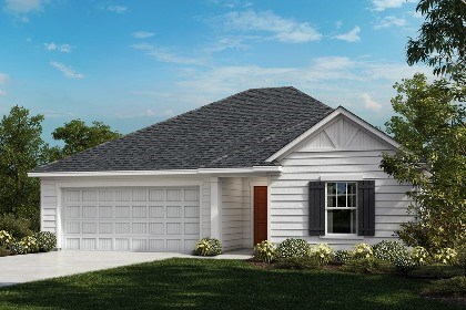 New Homes in Fuquay-Varina, NC - The Daniels Elevation C