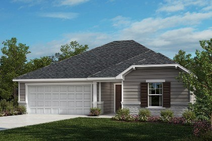 New Homes in Fuquay-Varina, NC - The Daniels Elevation D