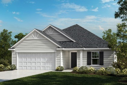 New Homes in Fuquay-Varina, NC - The Winstead Elevation C