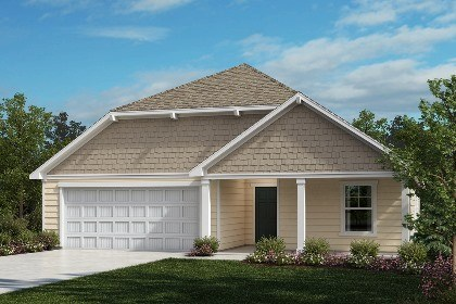 New Homes in Fuquay-Varina, NC - The Winstead Elevation D