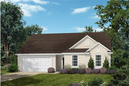 New Homes in Fuquay-Varina, NC - Elevation A