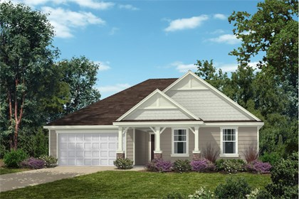 New Homes in Fuquay-Varina, NC - Elevation D