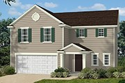 New Homes in Fuquay-Varina, NC - The Hamilton II