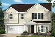 New Homes in Fuquay-Varina, NC - The Williams