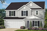 New Homes in Fuquay-Varina, NC - The Brinkley II