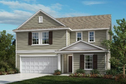 New Homes in Fuquay-Varina, NC - The Hawkins Elevation A