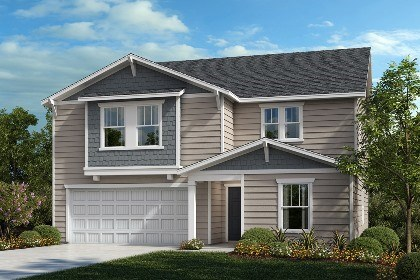 New Homes in Fuquay-Varina, NC - The Hawkins Elevation B