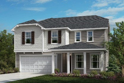 New Homes in Fuquay-Varina, NC - The Hawkins Elevation D