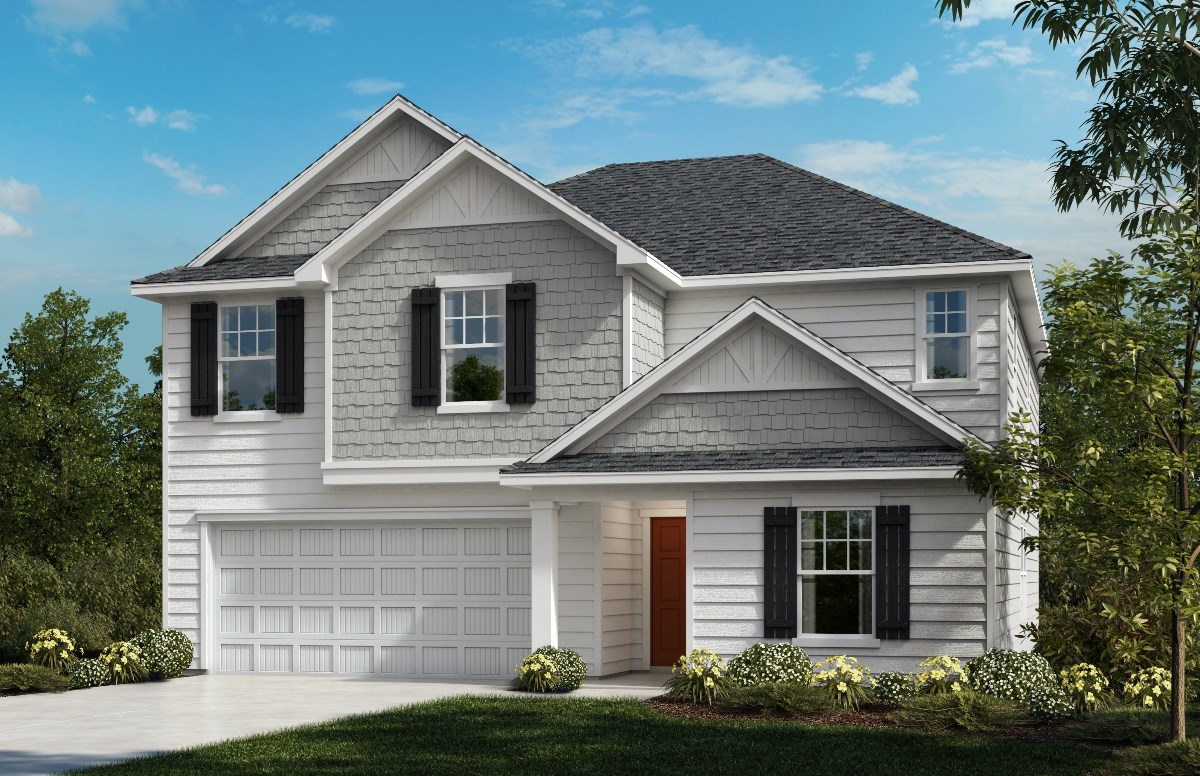 New Homes in Fuquay-Varina, NC - Partin Place The Hawkins