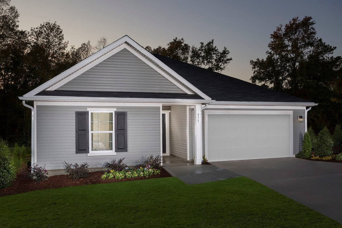 New Homes in Fuquay-Varina, NC - Partin Place The Grayson