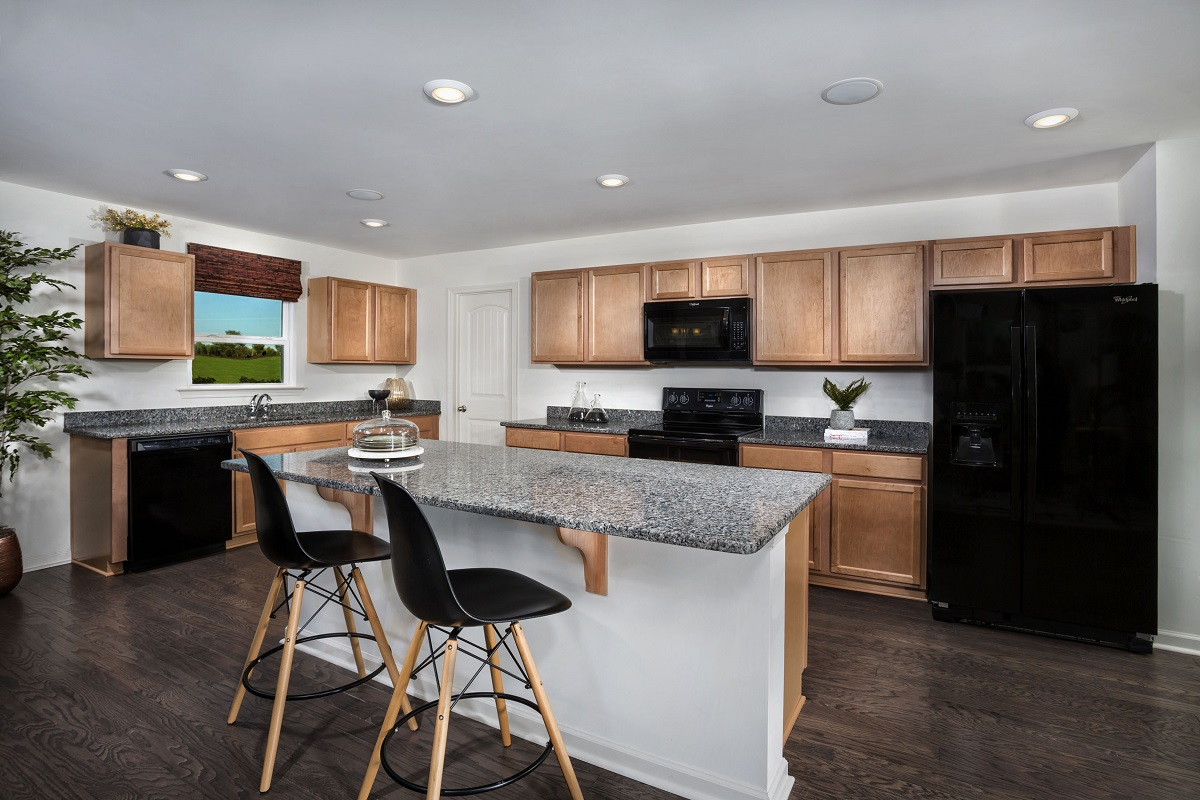 New Homes In Fuquay Varina, NC   Partin Place The Grayson Kitchen