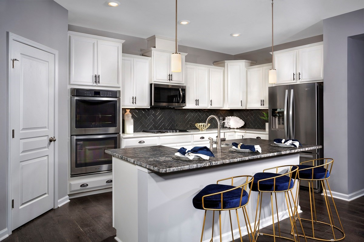 New Homes in Fuquay-Varina, NC - Partin Place The Winstead Kitchen