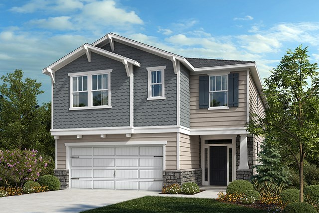 New Homes in Apex, NC - Elevation Y