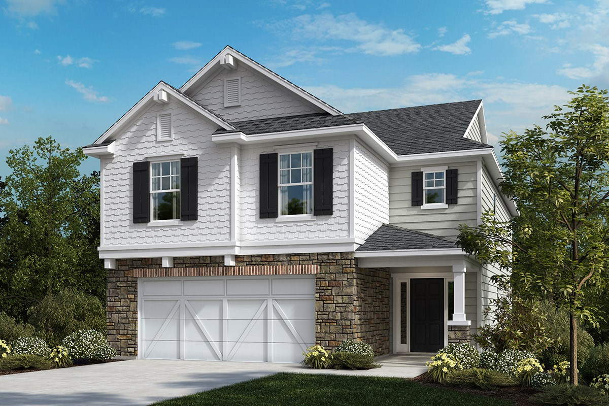 New Homes in Apex, NC - Reunion Pointe The Hatteras