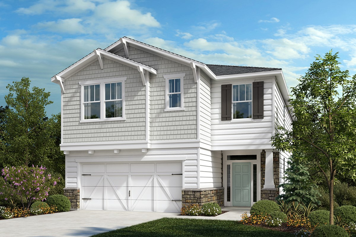 The Hatteras New Home Floor Plan In Reunion Pointe By Kb