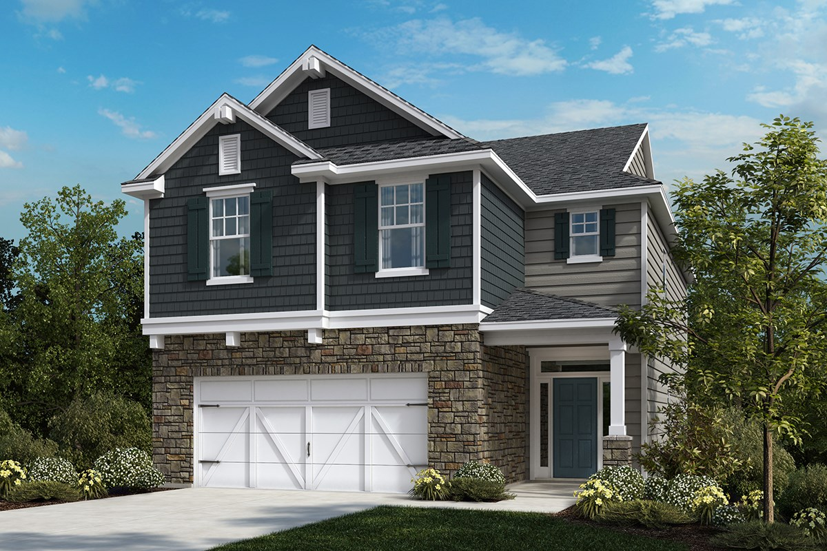 The hatteras new home floor plan in reunion pointe by kb for Hatteras homes