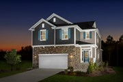 New Homes in Apex, NC - The Hatteras Modeled