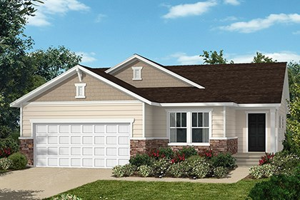 New Homes in Wake Forest, NC - Elevation B